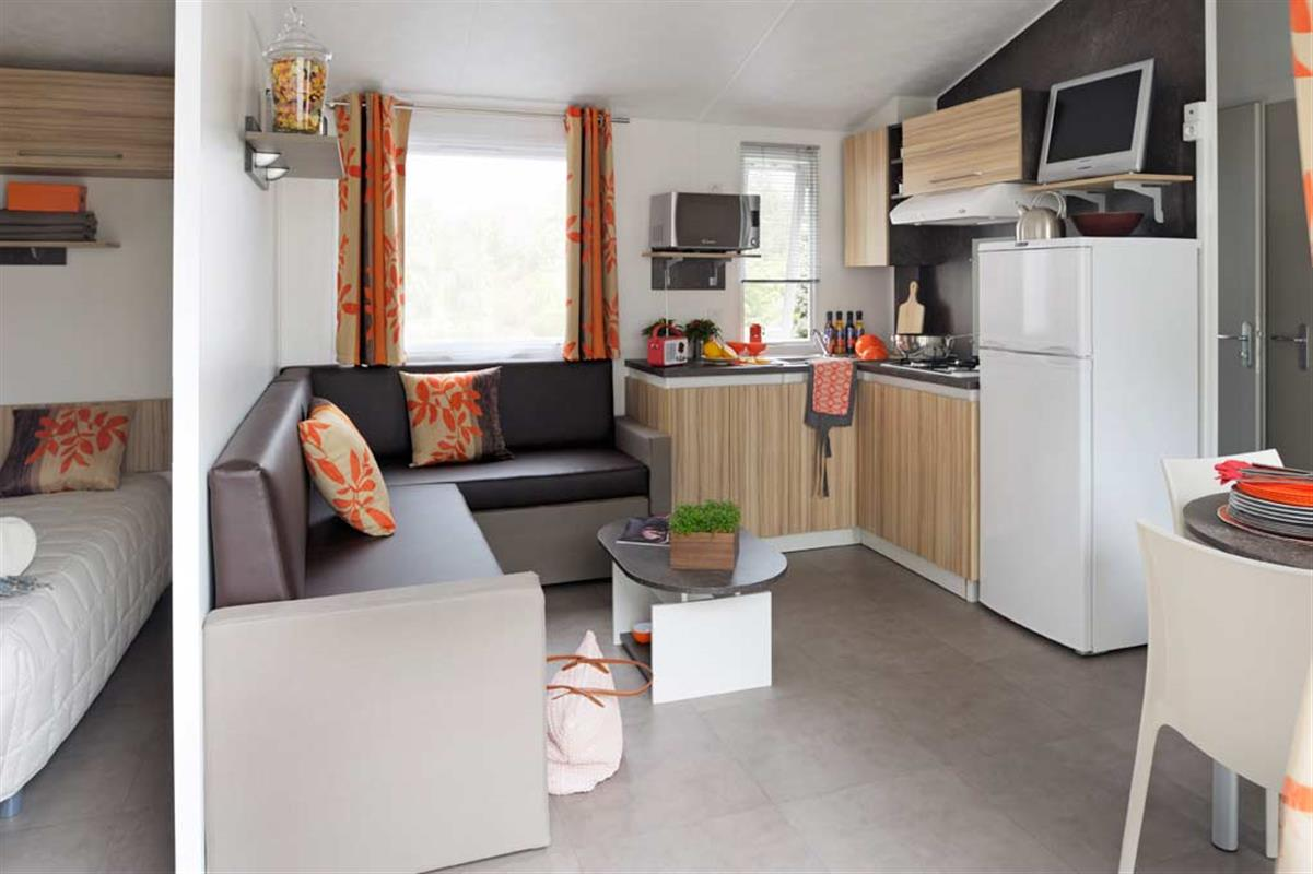 Mobil home rideau 3 chambres de 2013 achat vente de for Camping le bois joli la chambre