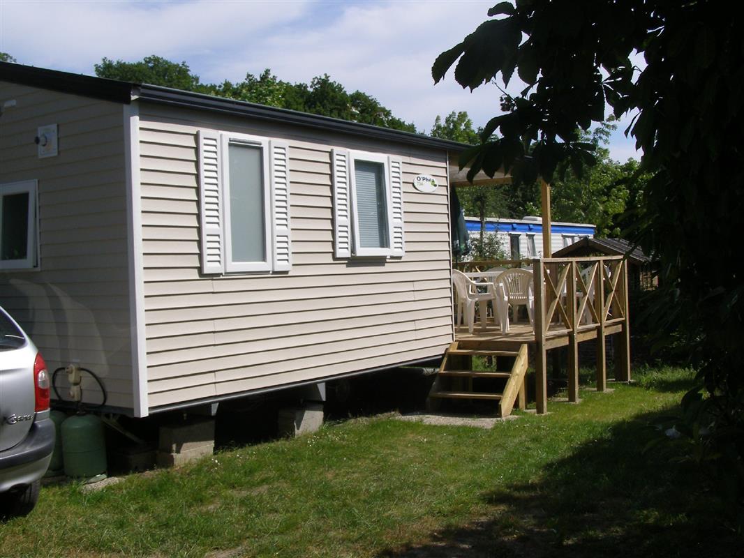 Mobil home o 39 hara 2 chambres de 2010 achat vente de for Camping le bois joli la chambre